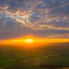 Sunglow Heaven Over Steptoe -The Palouse, Eastern Washington