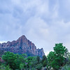 Zion: The Watchman after sunset