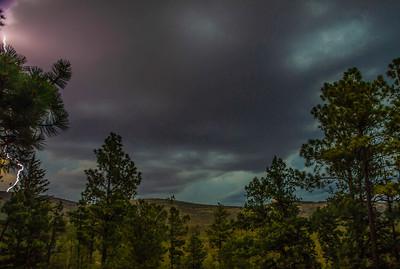 Lightning Strike over Sacramento Mountains