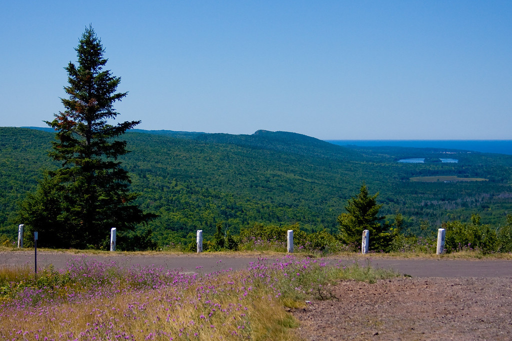 View from Brockway Mountain looking west.