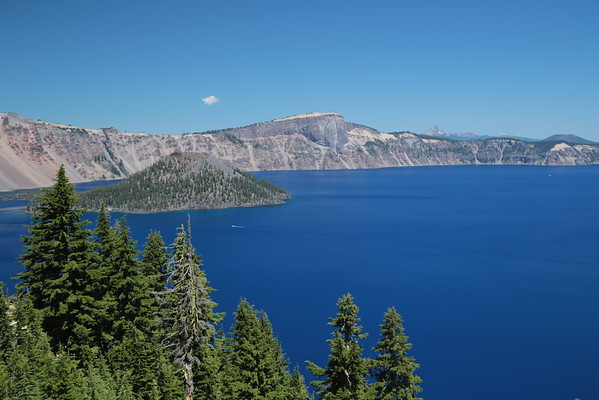 Upper Rouge River and Crater Lake