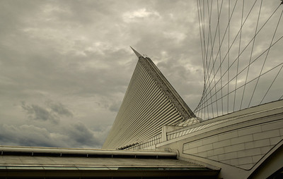 Calatrava Art Museum. Milwaukee Wisconsin.