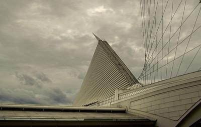 Calatrava Art Museum. Milwaukee Wisconsin.