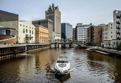 Milwaukee Riverwalk.