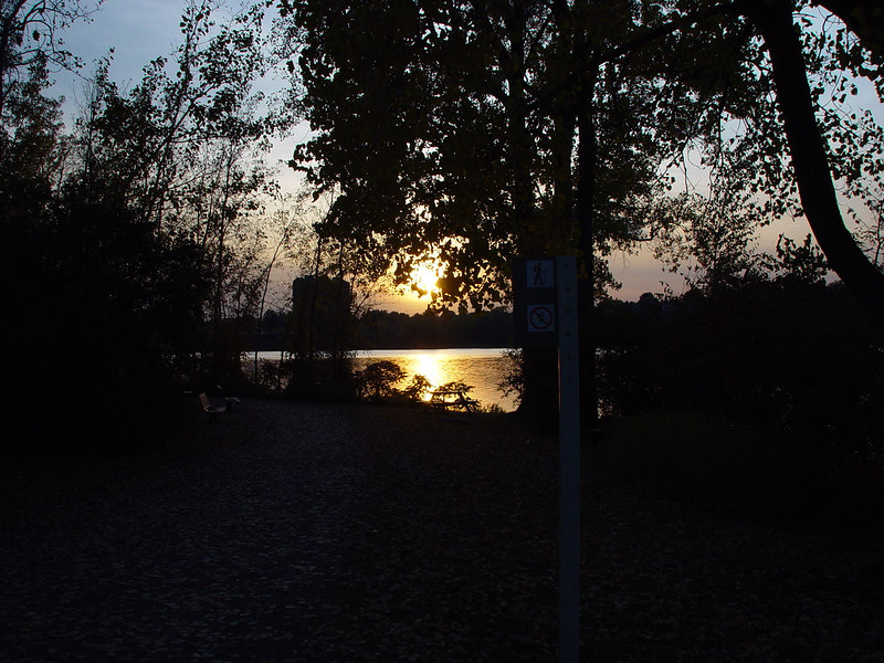 Sunset,PARC-DE-L'ILE-DE-LA-VISITATION,Coucher du soleil
