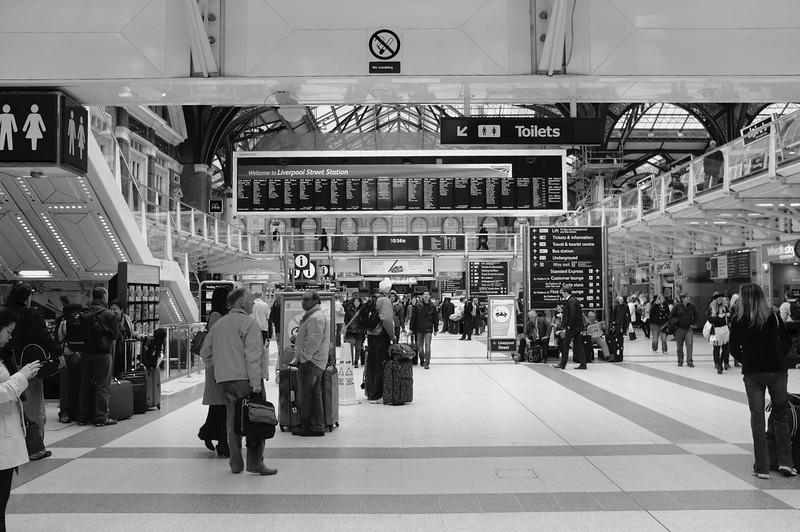 Liverpool Street Station, London