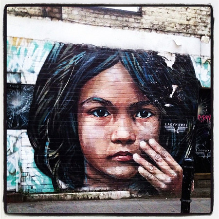 Brick Lane, London, urban, graffiti,