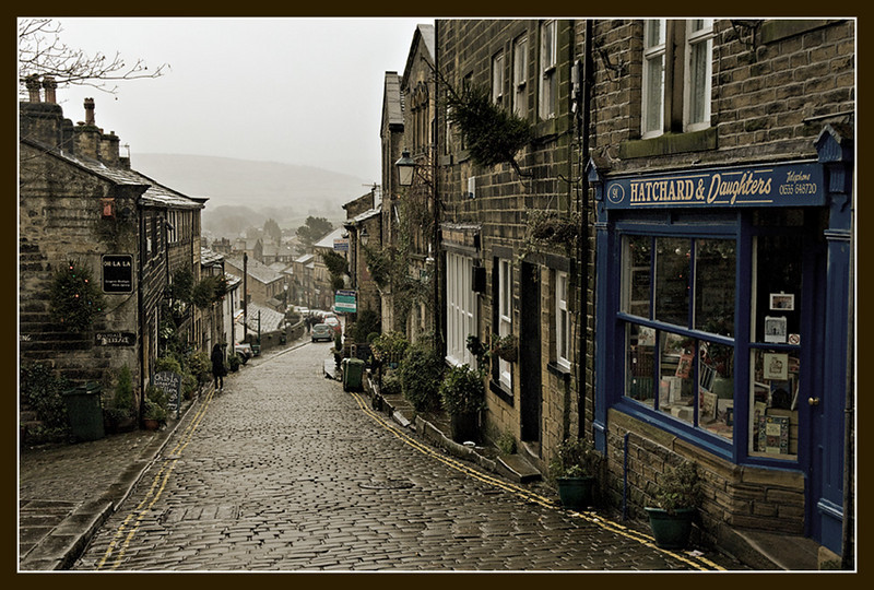 Haworth, Yorkshire. Home of the Bronte Sisters.