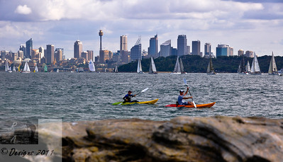 Sydney Skyline from Watson's Bay