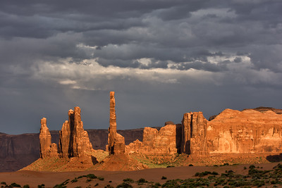 Storm in Monument Valley, Arizona