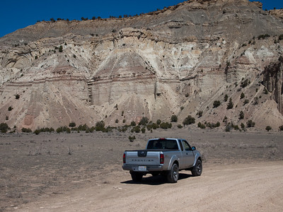 Trucks like dirt.