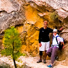 Michelle and Tom on Hidden Valley Trail, Zion National Park.