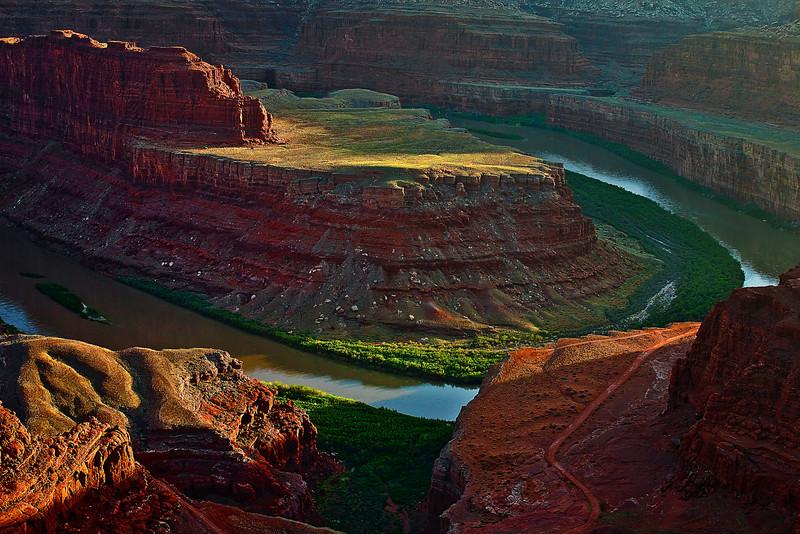 Utah, Dead Horse Point, Sunset Landscape,  犹他