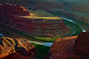 Utah, Dead Horse Point, Sunset Landscape,  犹他