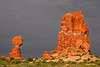Utah, Arches National Park Landscape, 犹他,  拱门国家公园 沙漠, 风景