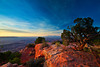 Utah, Canyonlands National Park, Sunrise, Grand View Point Landscape, 犹他,  峡谷地国家公园