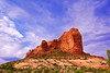 Arches National Park, Utah, Ham Rock Landscape, 犹他,  拱门国家公园