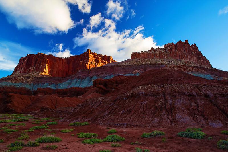 Utah, Capitol Reef National Park, 犹他, 峡谷地国家公园, 沙漠