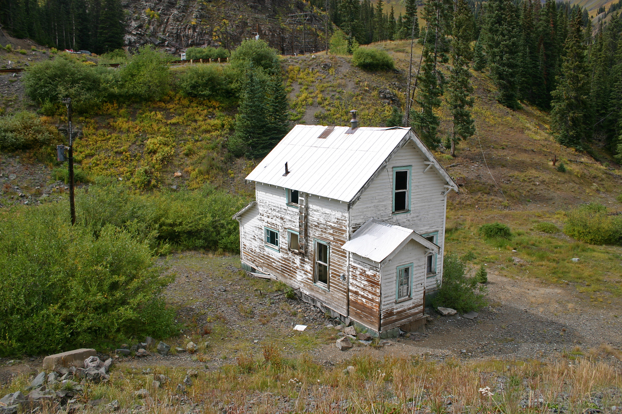 Colorado - abandoned mining town
