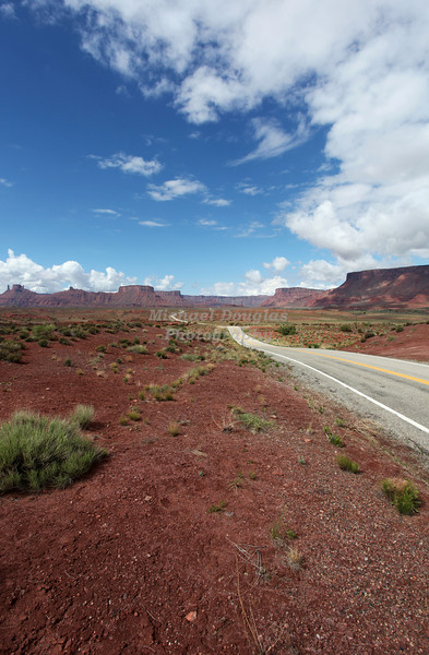 Utah Highway 128 between Cisco and Moab