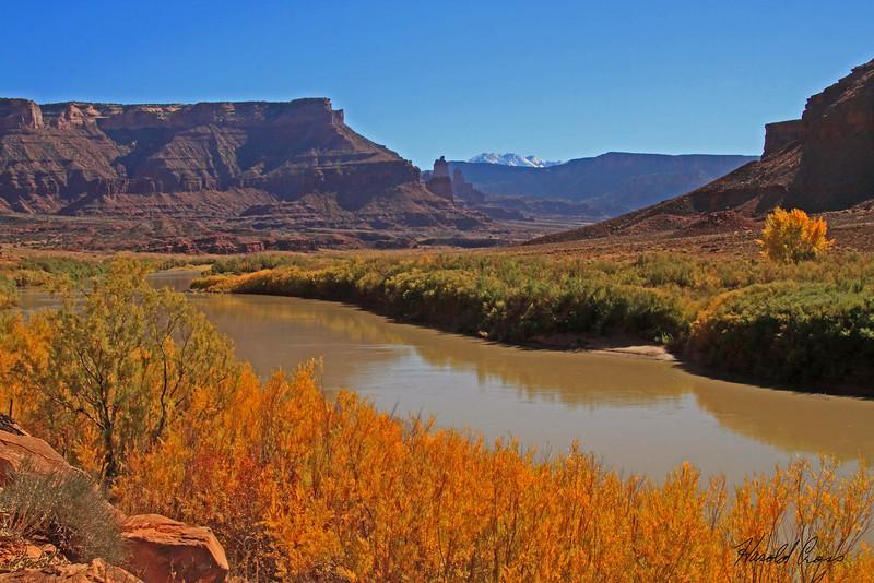 A landscape taken Nov. 2, 2010 near Moab, UT.