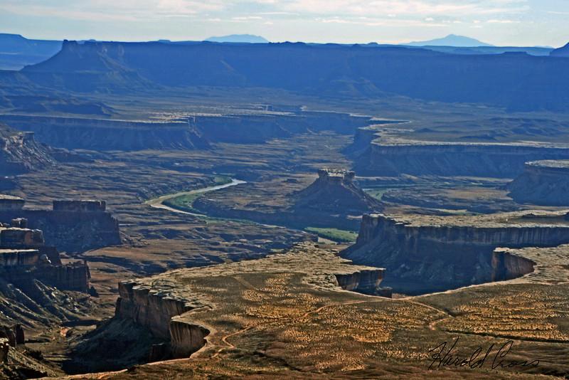 A landscape taken Sep. 2007 in Canyonlands National Park near Moab, UT.