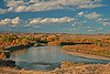 A landscape taken Oct. 15, 2009 on the Colorado river east of Moab, UT.