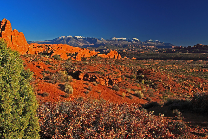 A landscape taken Nov. 2, 2010 in Arches National Park near Moab, UT.