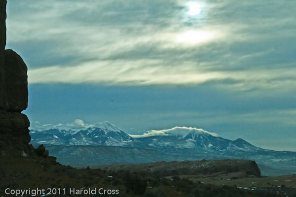 A landscape taken Jan. 6, 2009 near Moab, UT.