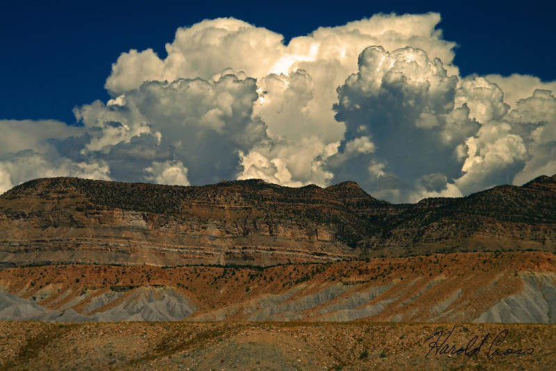 A landscape taken  Oct. 26, 2008 near Green River, UT.