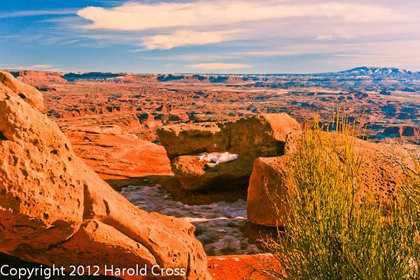 A landscape taken Jan. 6, 2009 at Canyonlands National Park near Moab, UT.