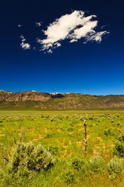 A landscape taken June 11, 2011 near Salina, UT.