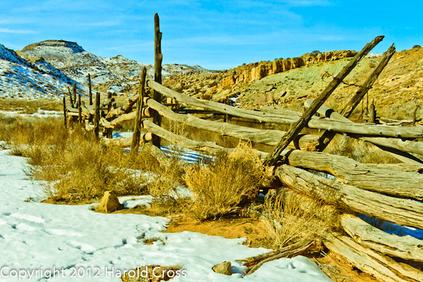 A landscape taken Jan. 6, 2009 at Arches National Park near Moab, UT.