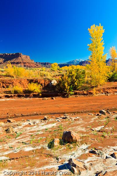 A landscape taken Oct. 20, 2011 east of Moab, UT.