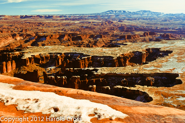 A landscape taken Jan. 6, 2009 at Canyonlands National Park near Moab, UT.