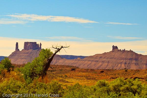 A landscape taken Aug. 26, 2011 near Moab, Utah.