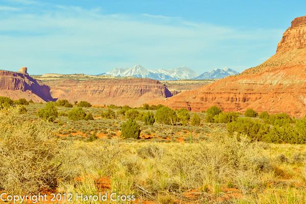 A landscape taken Mar. 31, 2012 near Moab, UT.