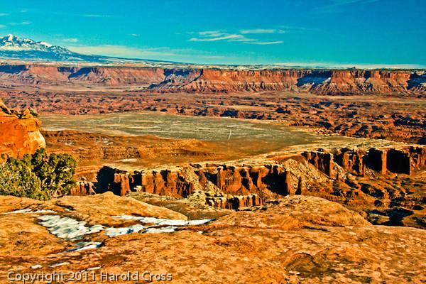 A landscape taken Jan. 6, 2009 in Canyonlands National Park near Moab, UT.