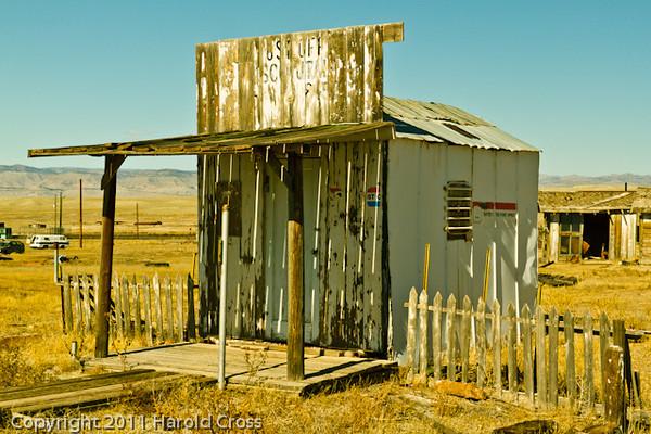 An abandoned U. S. Post Office taken Oct. 20, 2011 in Cisco, UT.