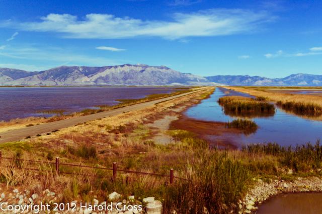 A landscape taken June 12, 2012 near Brigham City, UT.