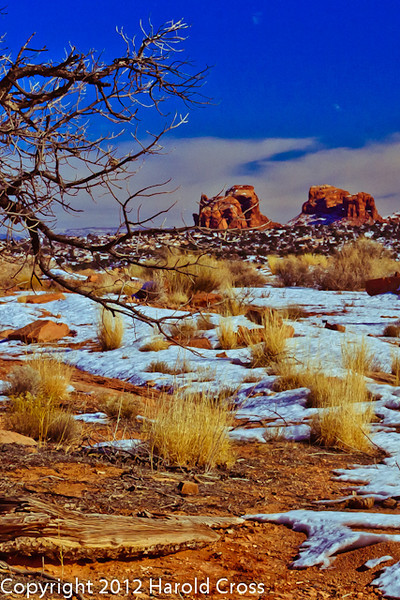 A landscape taken Jan. 6, 2009 at Arches National Park near Moab, UT.