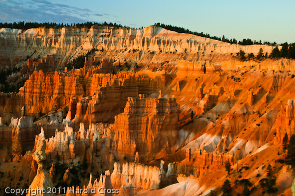 A landscape taken Sep. 10, 2007 in Bryce Canyon National Park.