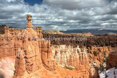 Bryce National Park, Navajo Trail, Thor's Hammer