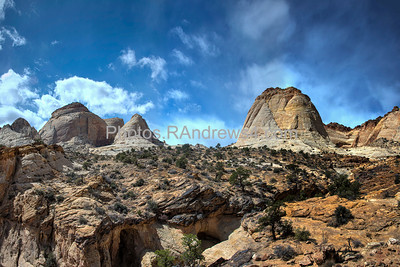 Capitol Reef National Park, Capitol Gorge Trail.