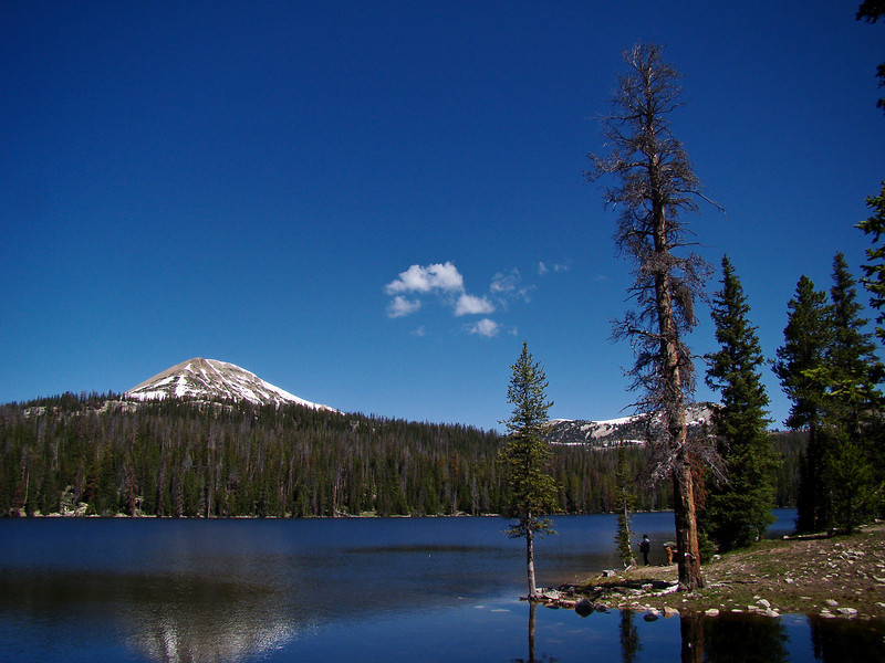 Trial Lake and Mt. Wilson: The Uinta and Wastach mountains of Utah