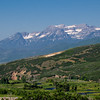 Heber Valley (Provo River): The Uinta and Wastach mountains of Utah