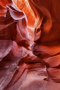 Antelope (slot) Canyon. Navajo Nation, near Page, Arizona