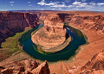 Horseshoe Bend. Colorado River near Page, Arizona.