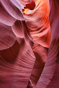 Antelope slot canyon near Page, Arizona