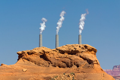 Navajo Power Plant near Page, Arizona